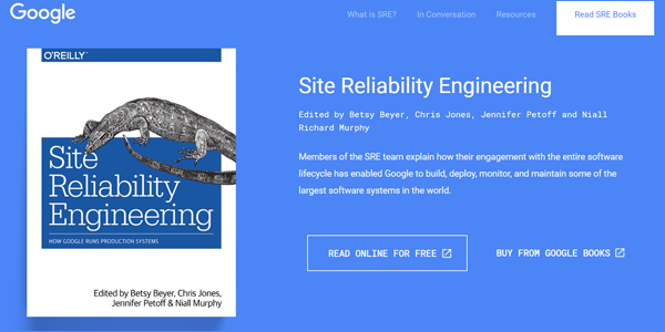 書籍『Site Reliability Engineering』