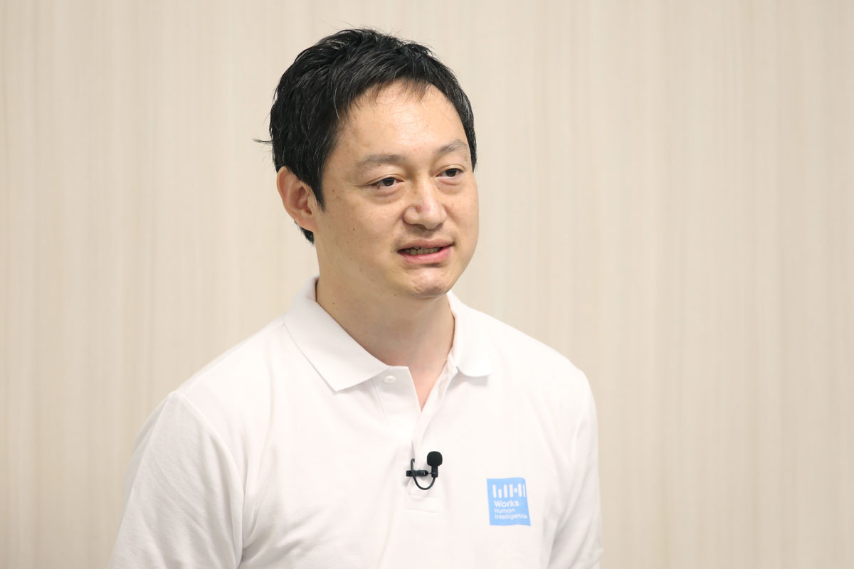 株式会社Works Human Intelligence Product Div. SRE Dept. Vice President 新村 北斗氏