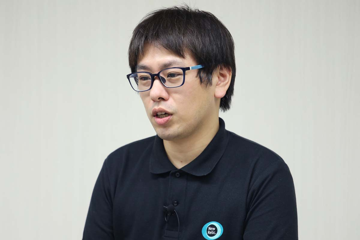 New Relic株式会社 Senior Technical Support Engineer 田中孝佳氏